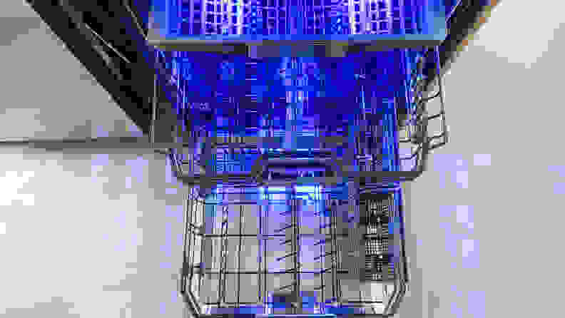 Thermador DWHD770WFM dishwasher racks