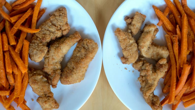 Air Fryer - Chicken and Fries