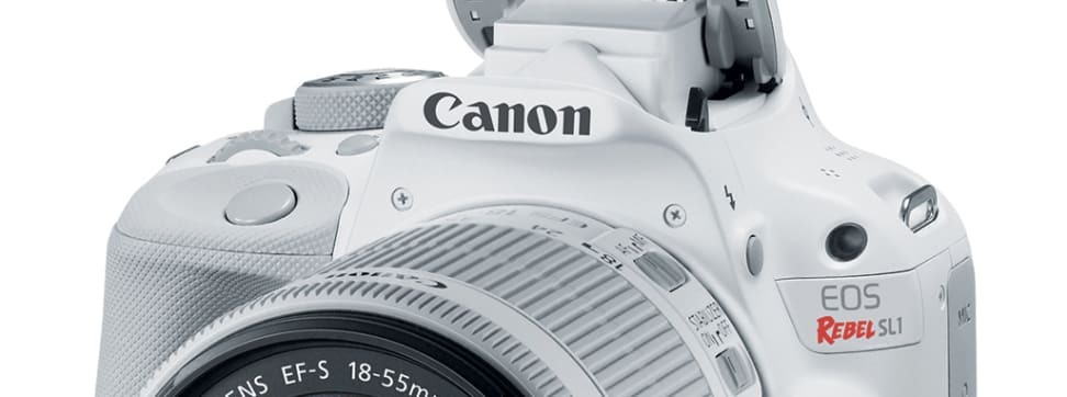 Canon released two new wide angle lenses today as well as a brand new color variant of its popular Rebel SL1.