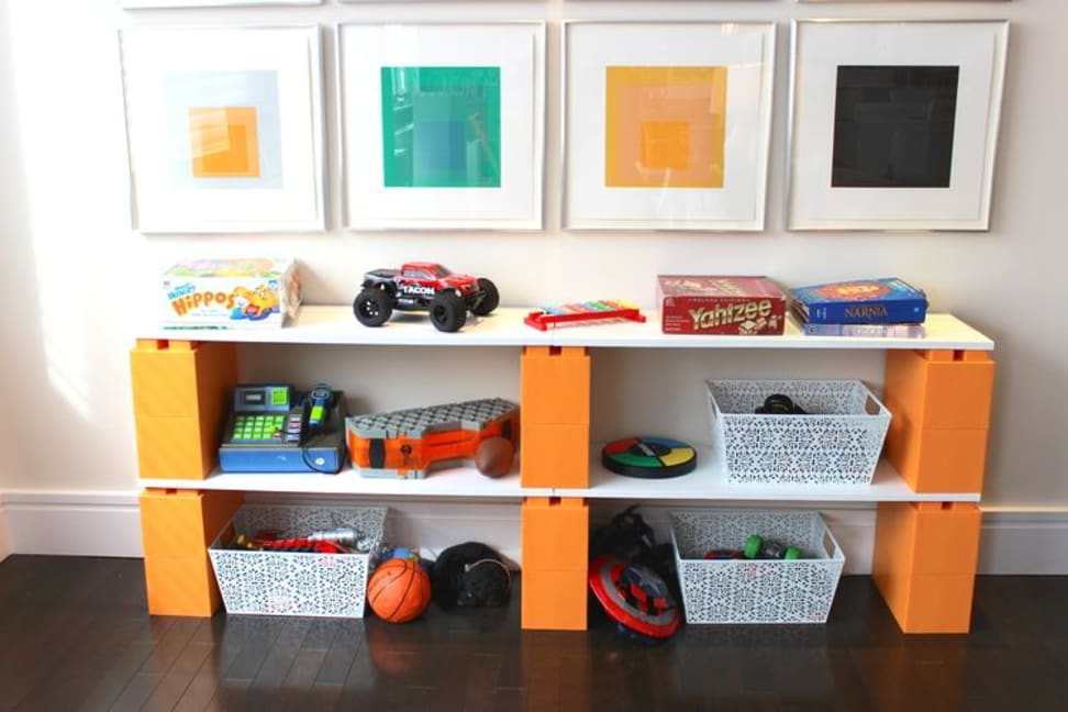 These building blocks will liven up your living space.