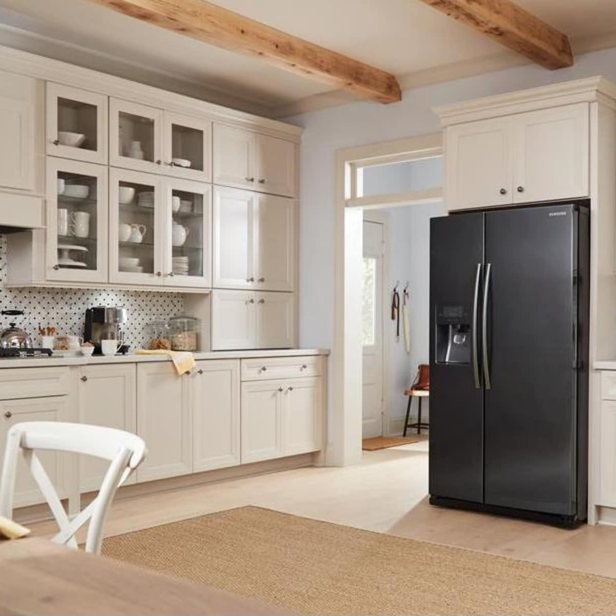 Samsung RS25J500DSG side-by-side refrigerator - Reviewed