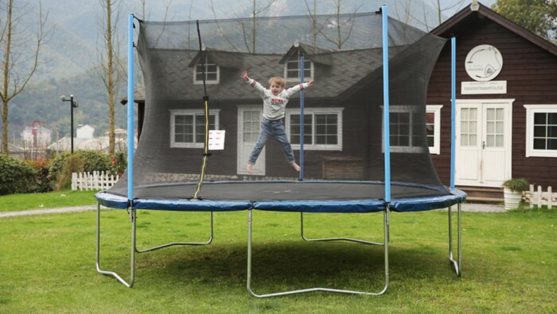 airbound trampoline