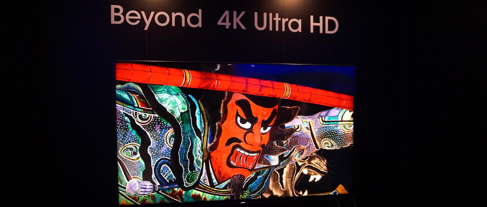 Sharp Beyond 4K Ultra HD First Impressions Review - Reviewed Televisions