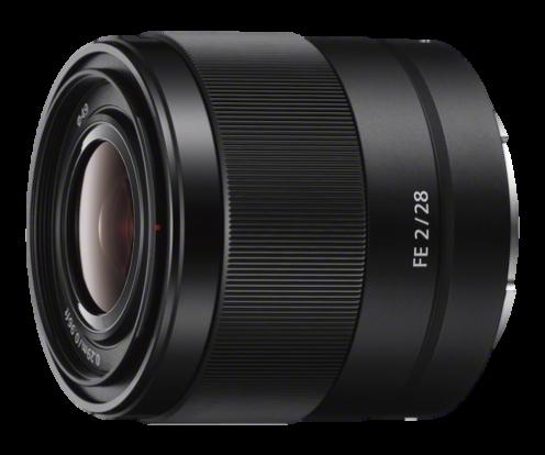 Product Image - Sony FE 28mm f/2 Full-frame E-mount Prime Lens