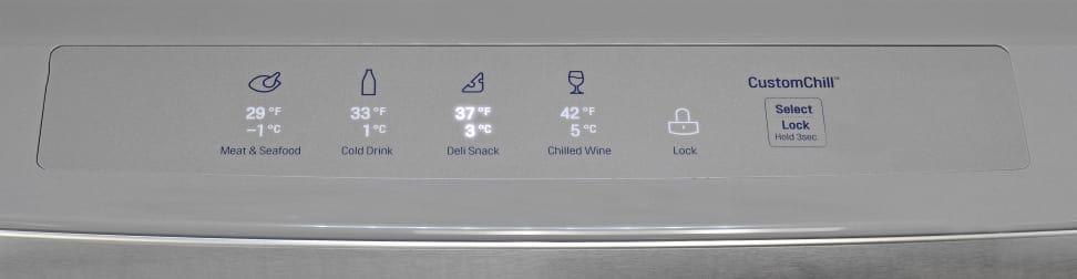 LG LMXS30786S Drawer Controls