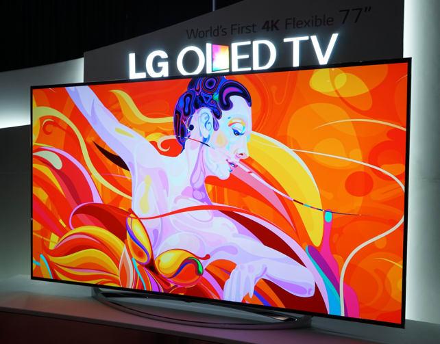 LG's Flexing OLED