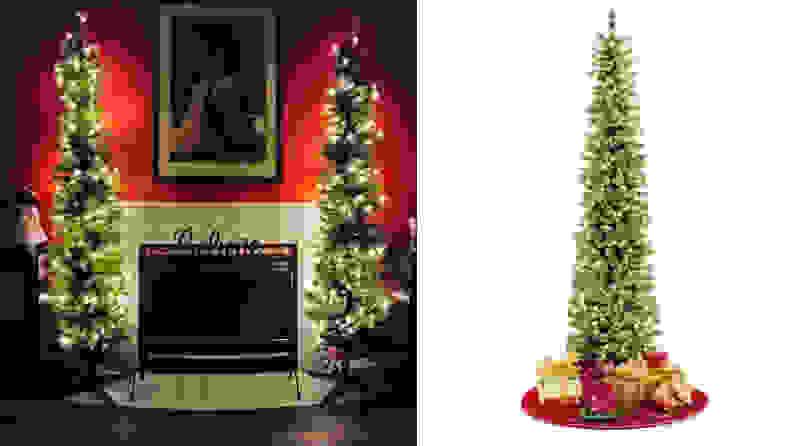 8. JoJo's Corner Pencil Slim Christmas Tree
