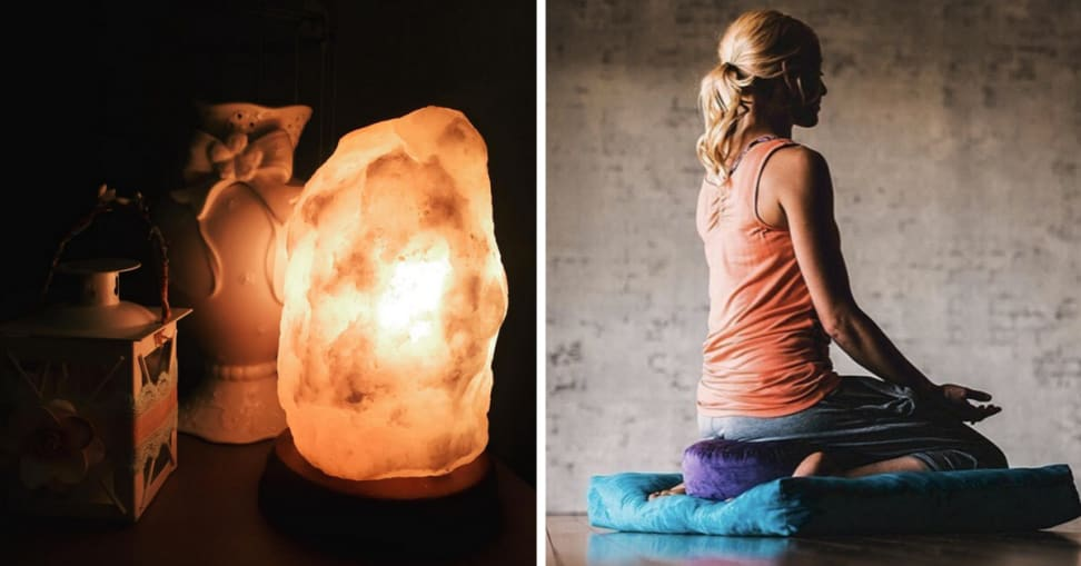From meditation pillows to salt lamps, we curated a list of affordable self-care products you can get on Amazon right now.