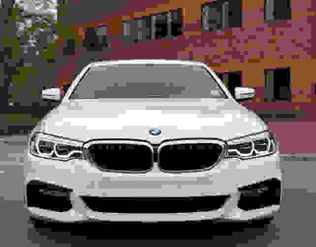 BMW 530i Front View