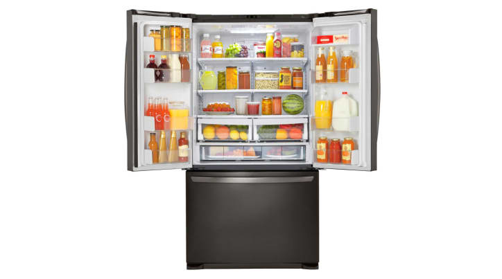 Lg Lfcs25426d Lfcs25426s French Door Refrigerator Review Reviewed