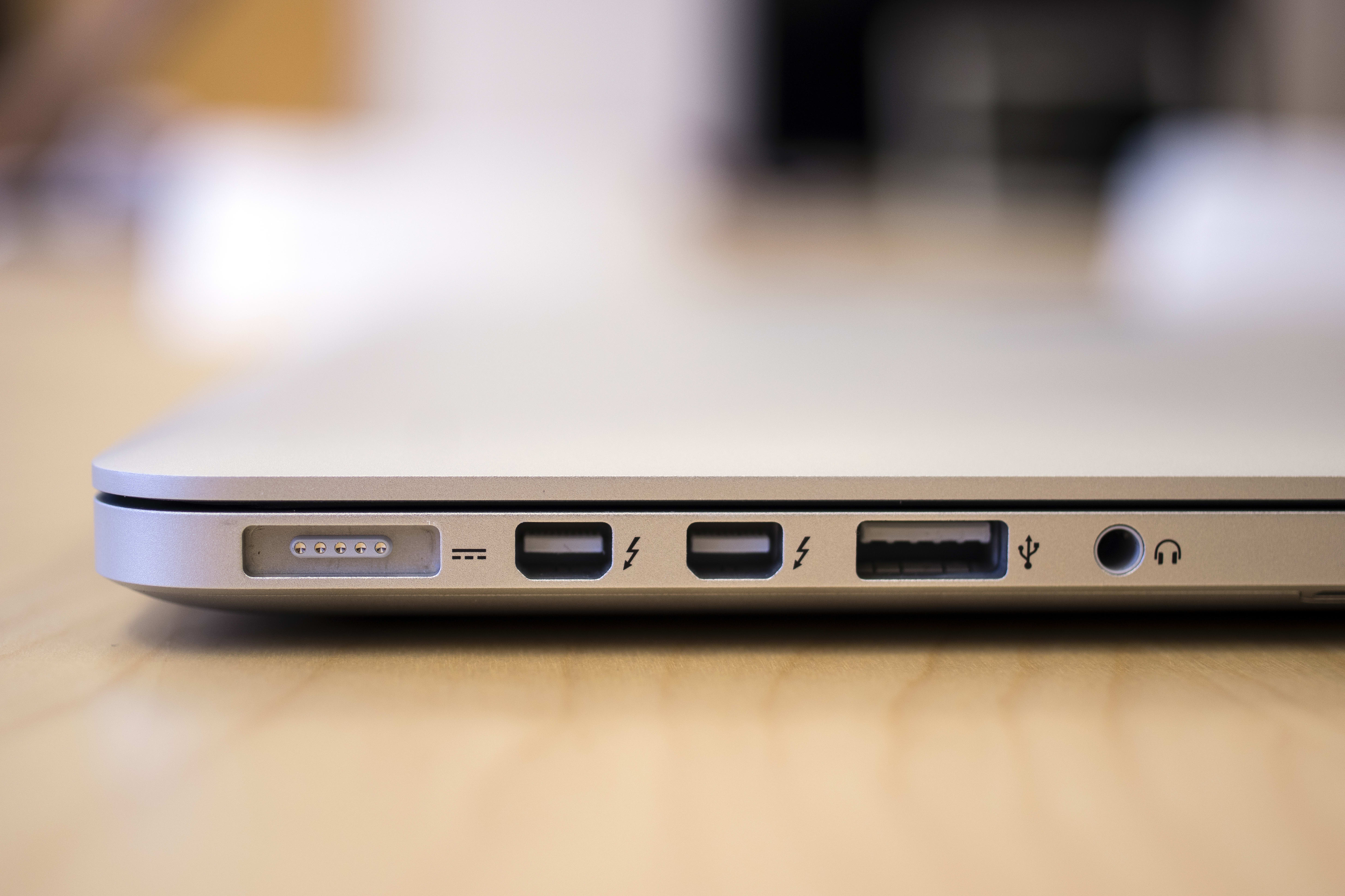 A picture of the Apple MacBook Pro with Retina Display.