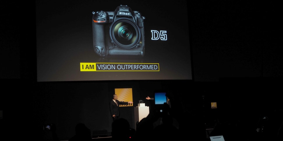 Nikon announced its latest flagship DSLR, the D5, at CES 2016.