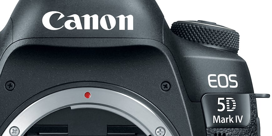 Canon 5D Mark IV Hero