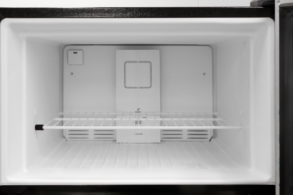 No icemaker in the Frigidaire FFTR1821QS means plenty of space for frozen food.