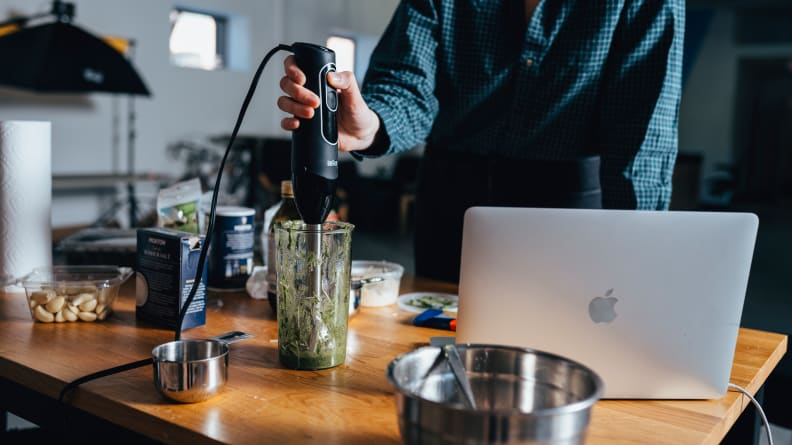 The Best Immersion Blenders: testing 1