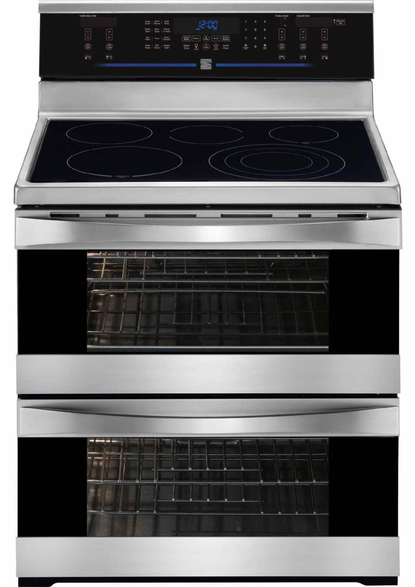 Kenmore Elite 97723 Double Oven Electric Range Review Reviewed Com