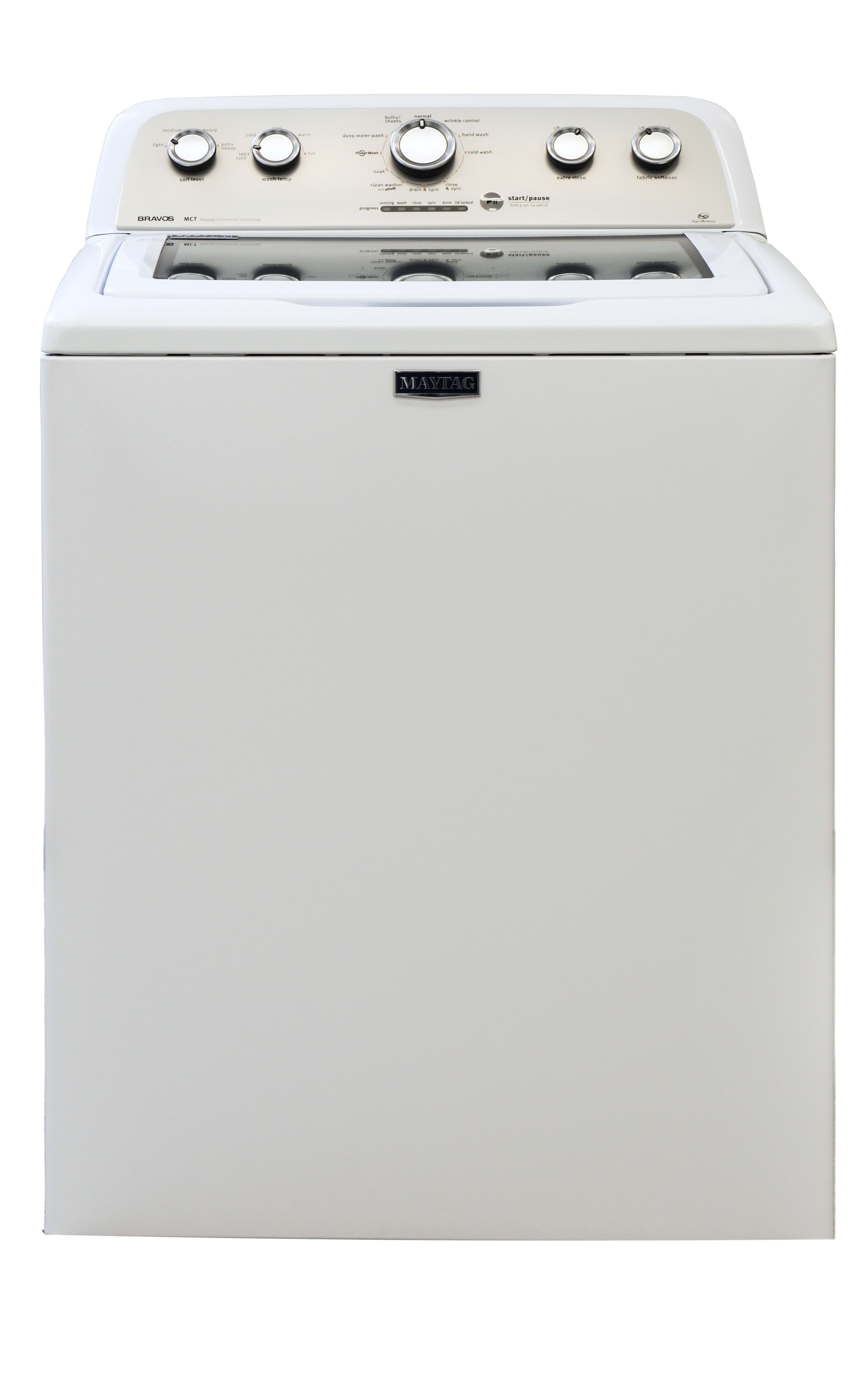 The Maytag MVWX655DW looks just like your mother's washer.