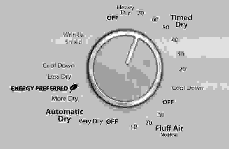 Whirlpool WED4815EW Cycles