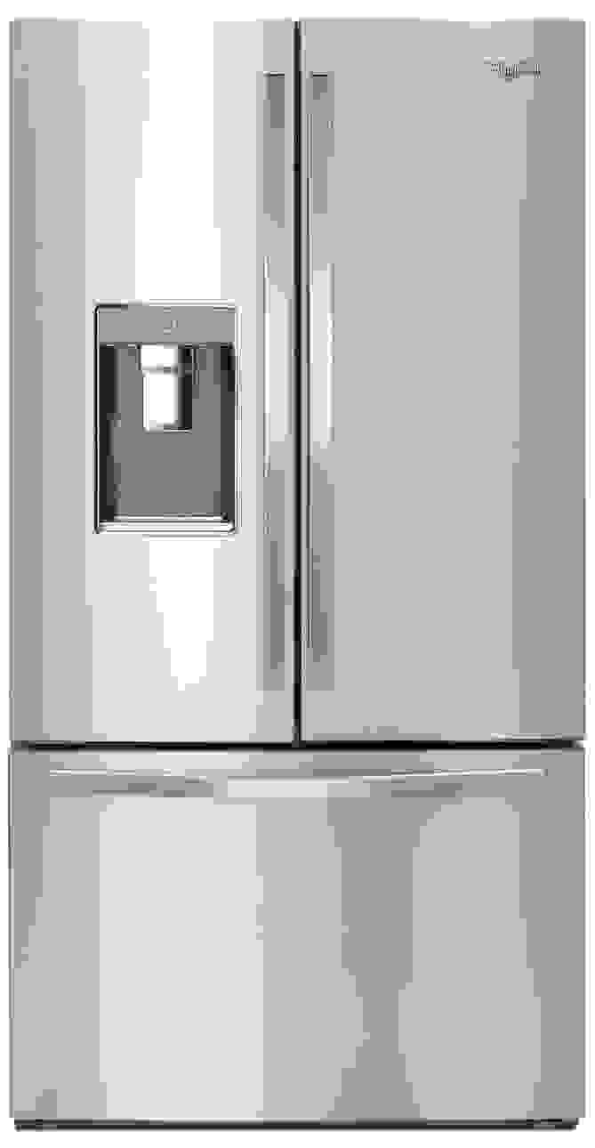This 32-cu.-ft. fridge looks simple on the outside, but offers some interesting innovations on the inside.