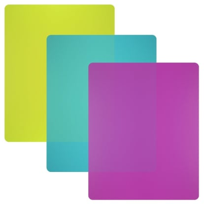 Product Image - Nicole Home Collection Flexible Plastic Cutting Board Mats