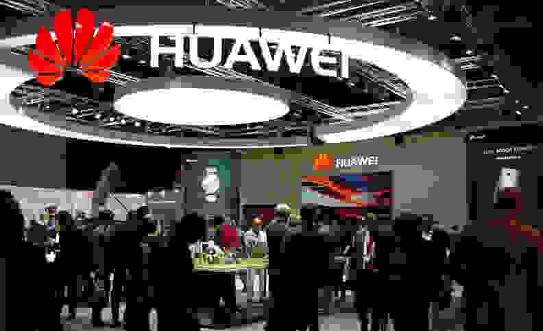 Huawei's booth at IFA 2015 in Berlin.