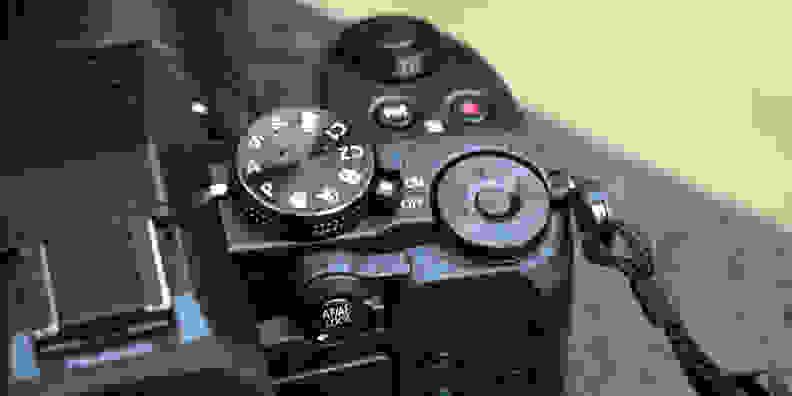 Panasonic Lumix G85 Top Controls
