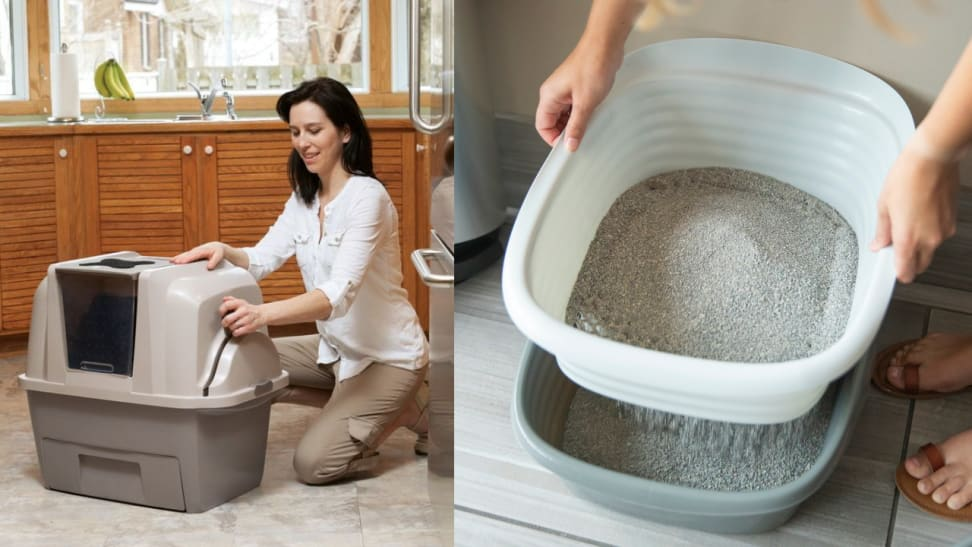 If litter box maintenance is the bane of your existence, these litter boxes will pique your interest.