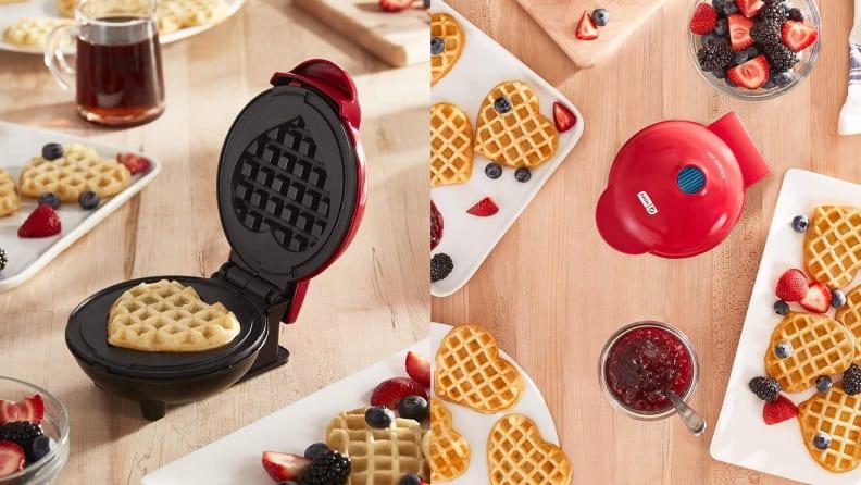 Dash Heart Waffle