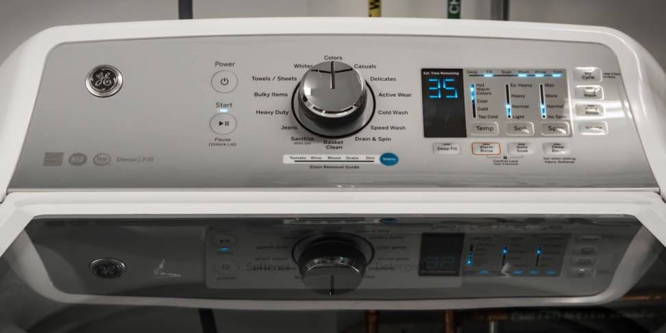 GE GTW680BSJWS Washing Machine