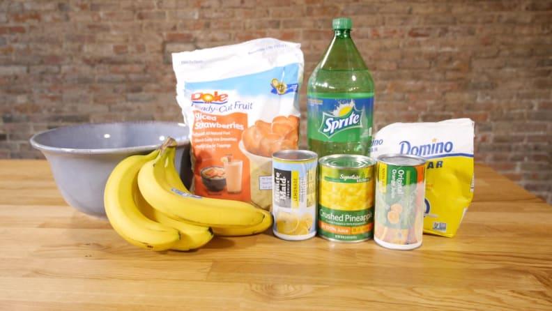Summer Slush Ingredients