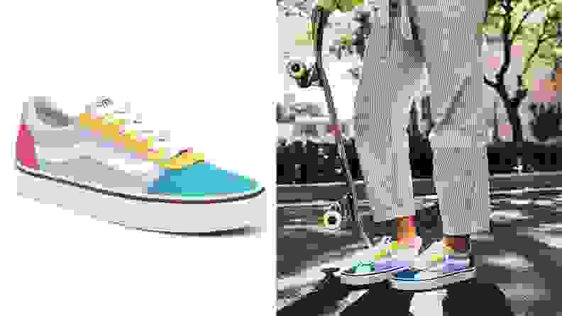 Vans Colorful Lo Ward Sneakers