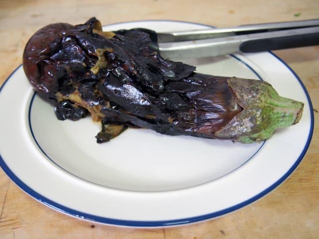 Mangled eggplant