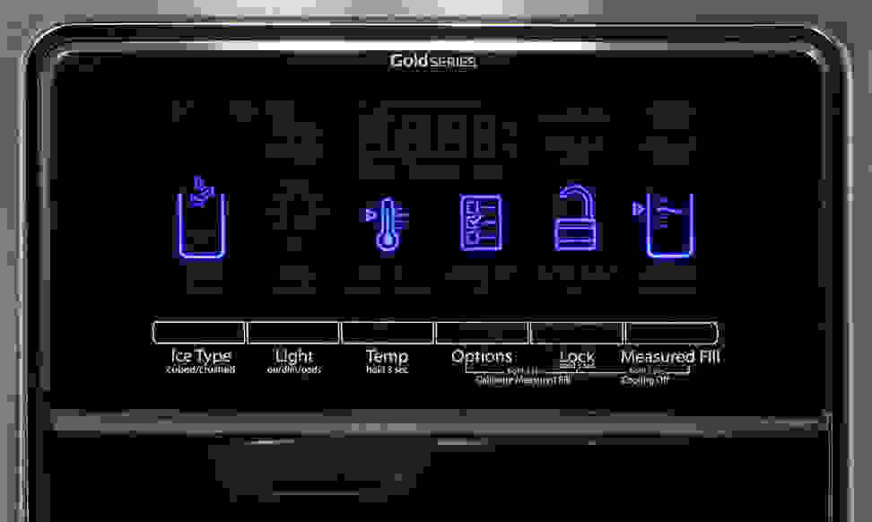 Whirlpool WRS975SIDM Controls