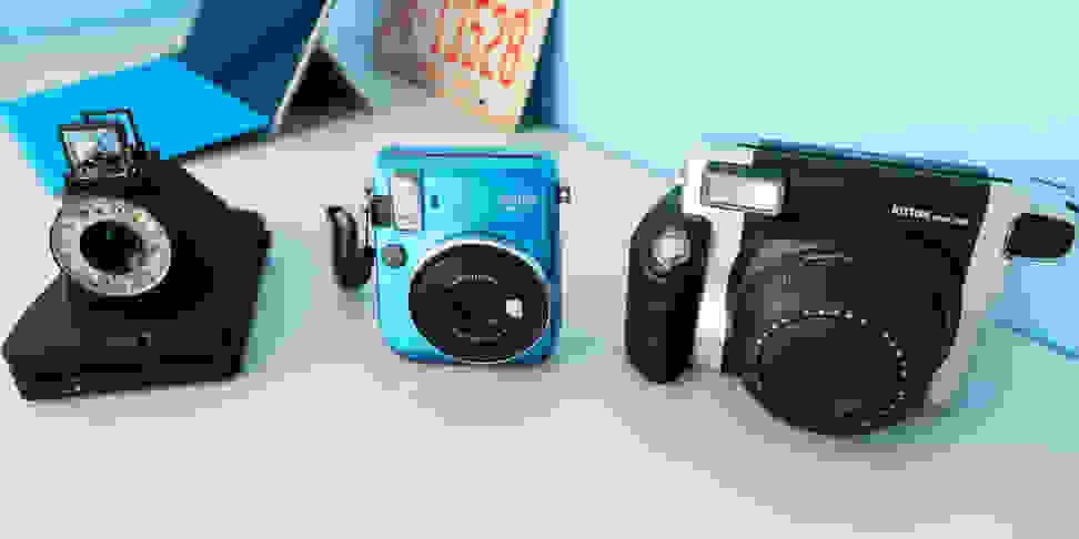 three new instant cameras