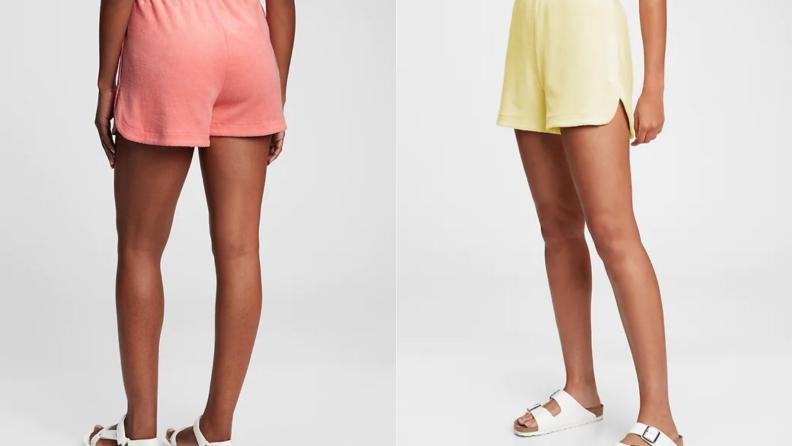 Gap terrycloth shorts