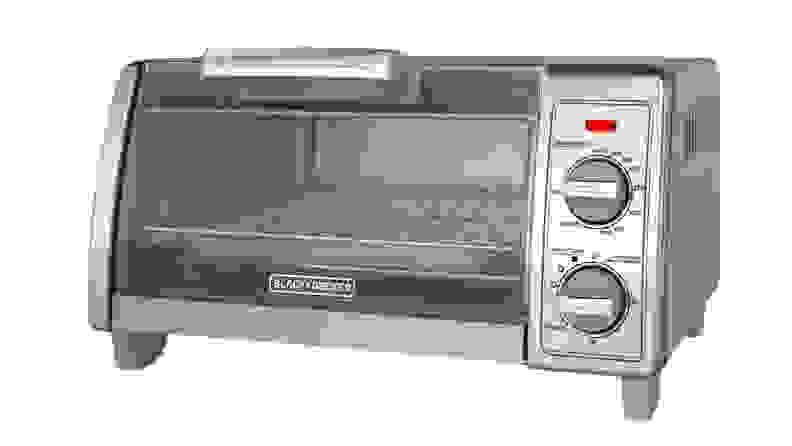 Black & Decker 2-Knob 4-Slice Toaster Oven