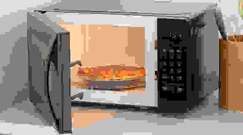 AmazonBasics Smart Microwave