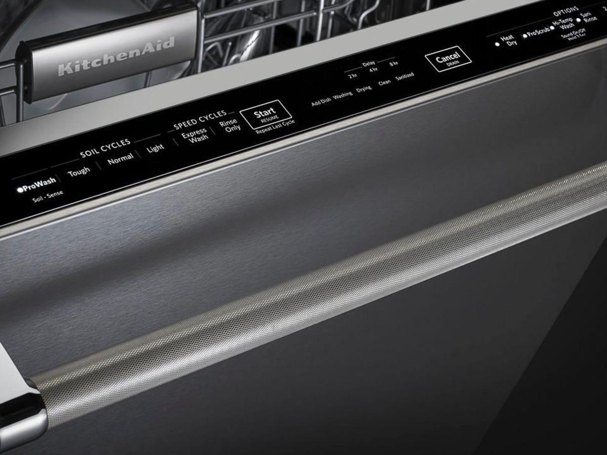 KitchenAid KDTE334GPS Dishwasher Review - Reviewed Dishwashers