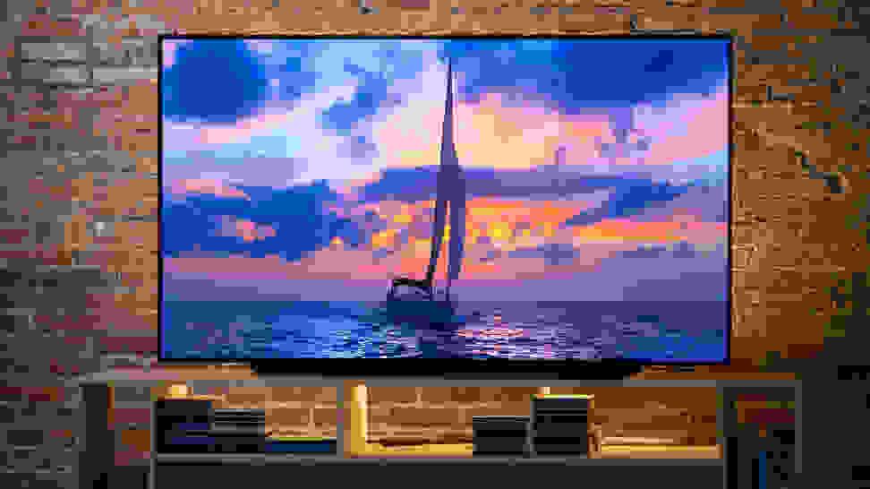 The LG C9 OLED TV