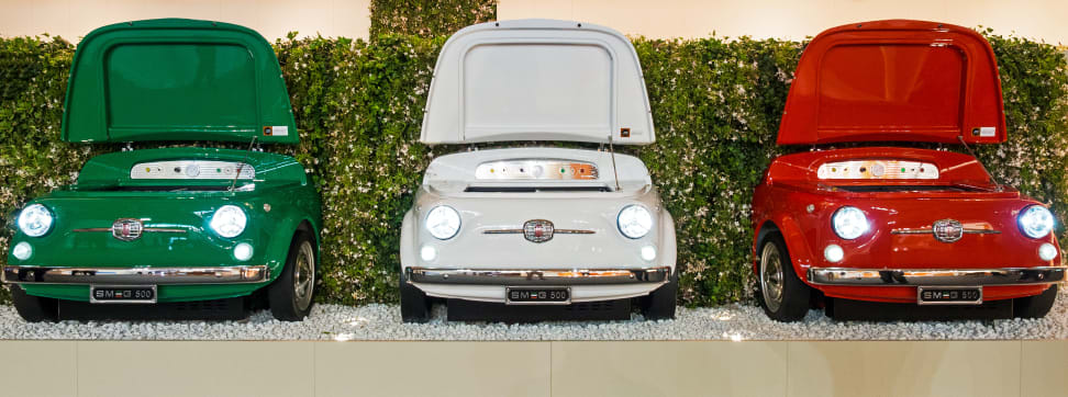 Smeg 500 Fiat refrigerator