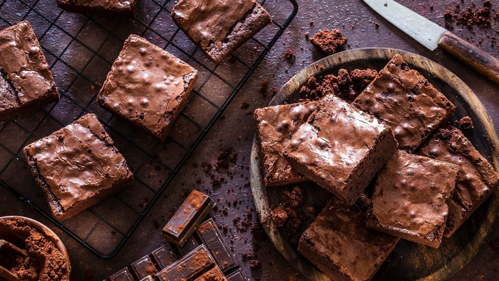 According to this Top Chef winner, the best brownies are almost fudge-like.