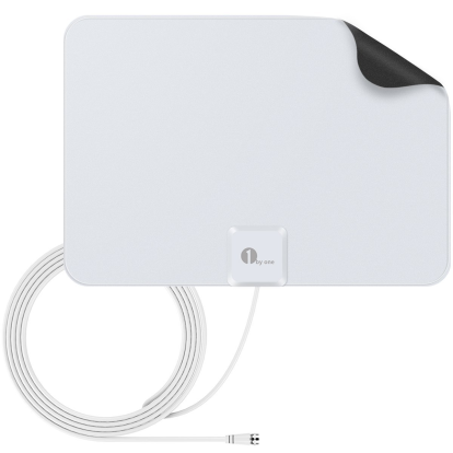Product Image - 1byone Super Thin HDTV Antenna, 35 Miles