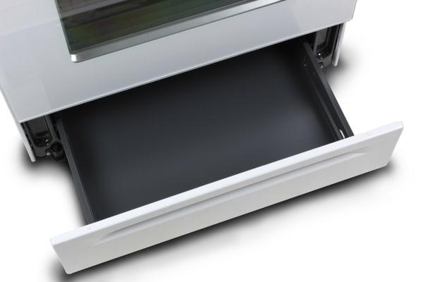 The Amana AGR5630BDW storage drawer