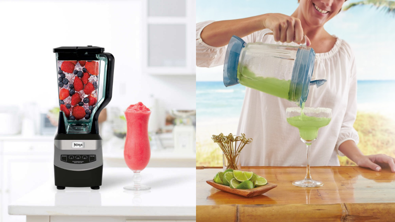 Blender and Margaritaville margarita maker