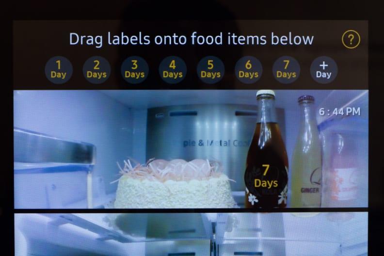 Samsung Family Hub Refrigerator Expiration Dates