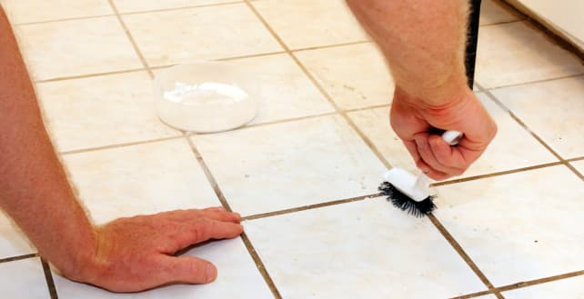 Oxygen Bleach Gets Your Grout Clean Reviewed