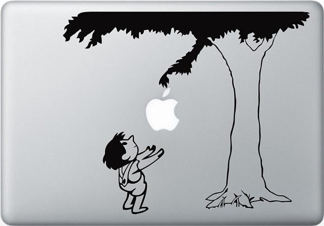 Apple Logo Giving Tree