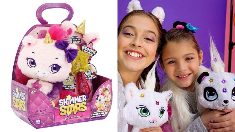 Shimmer Stars Plush Unicorn
