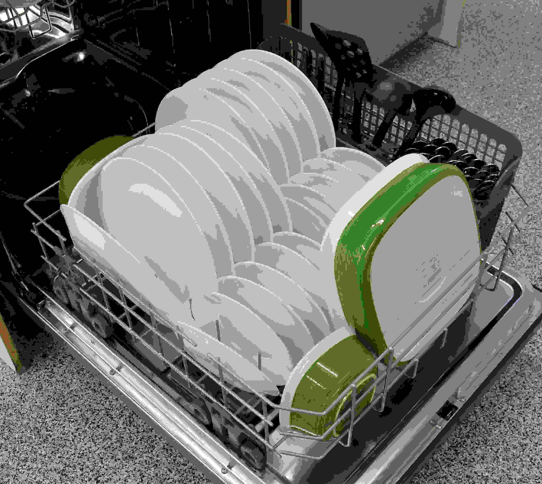 IKEA IUD7555DS bottom rack capacity
