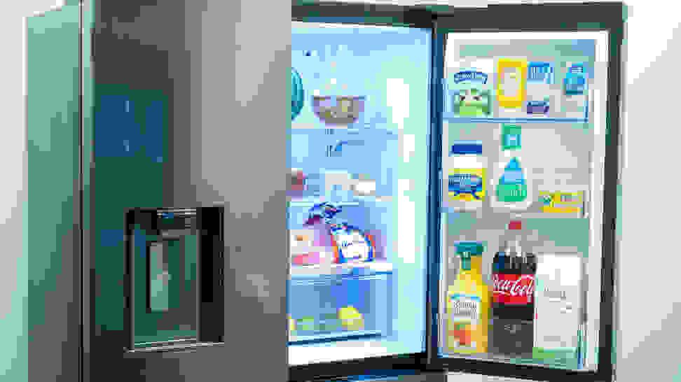 Samsung-refrigerator-RF23M80770SG-door-bins